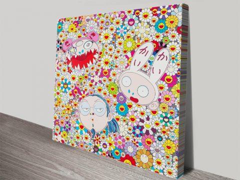 Takashi Murakami Kaikai Kiki And Me The Shocking Truth Revealed Canvas print