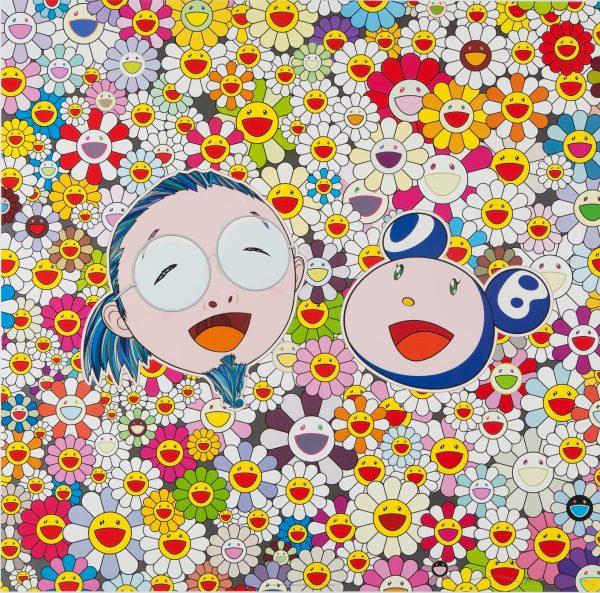 Takashi Murakami Me and Mr. DOB