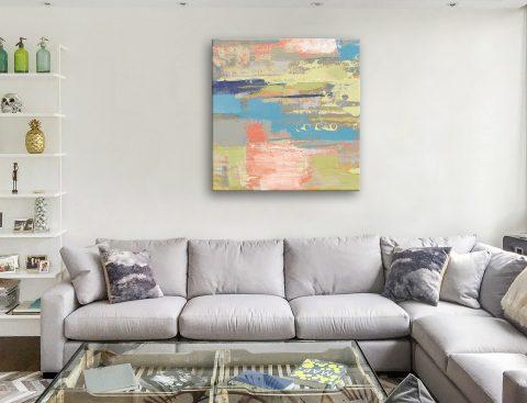 Buy a Colourful Canvas Print of Urban Walkway ll