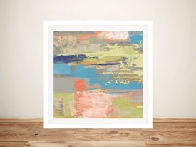 Buy Urban Walkway ll Colourful Abstract Art