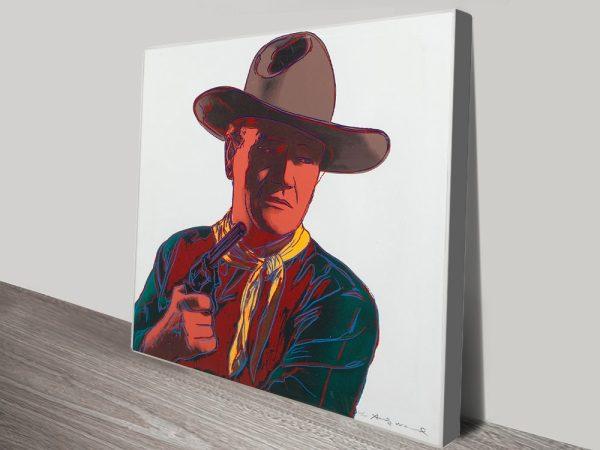 John Wayne Andy Warhol Pictures Australia