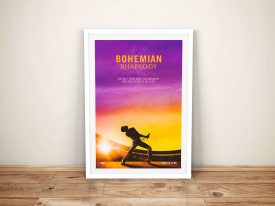 Buy Bohemian Rhapsody l Film Canvas Wall Art