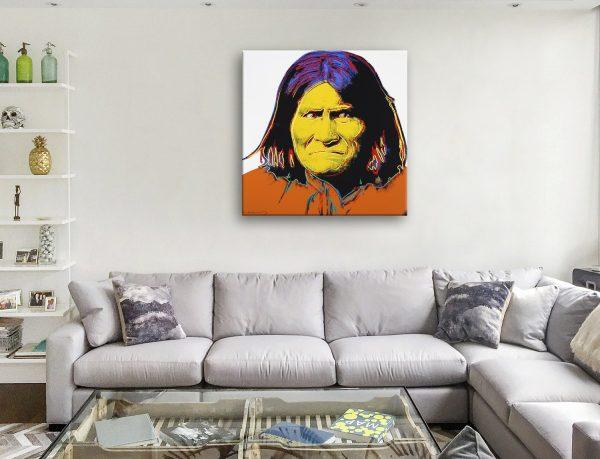 Geronimo by Andy Warhol Poster Artwork Australia