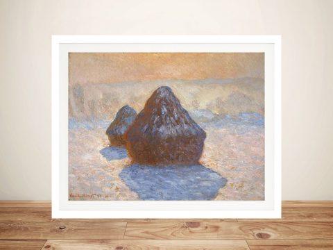 Buy Haystacks Classic Monet Wall Art Prints