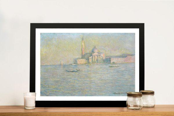 Buy San Giorgio Maggiore Wall Art by Monet