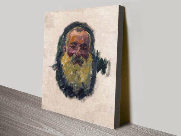 Buy a Self Portrait Print by Monet Cheap Online
