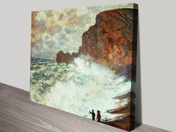 Buy Rough Weather at Étretat Cheap Classic Art