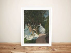 Buy Women in the Garden Classic Monet Art