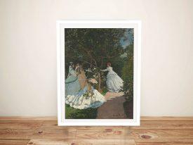 Buy Women in the Garden Classic Monet Art
