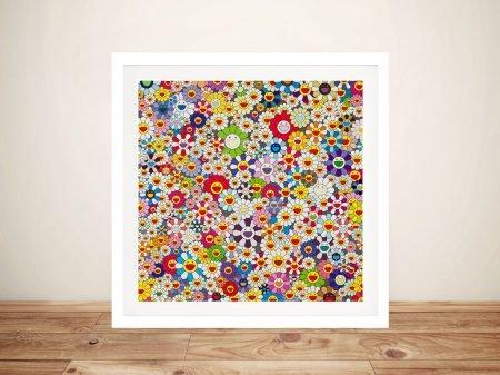 Buy a Framed Print of Flowers Flowers Flowers