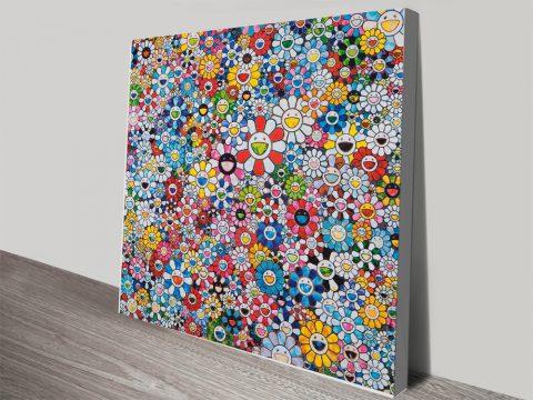 Buy Bright Japanese Anime Canvas Prints AU