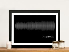 Buy Paradise City Soundwave Artwork