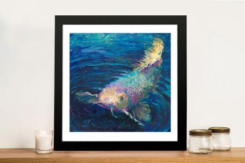 Buy In a Small Pond Iris Scott Canvas Prints