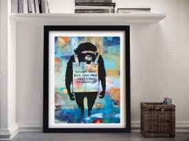 Buy a Laugh Now Summer of Love Wall Art Print
