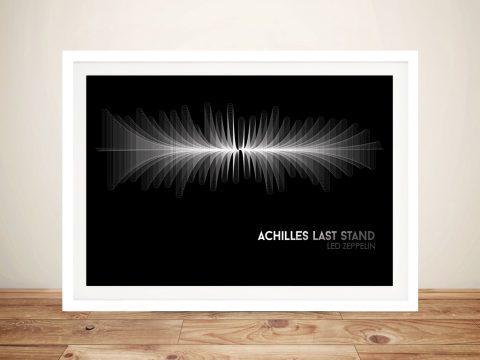 Buy an Achilles Last Stand Soundwave Print