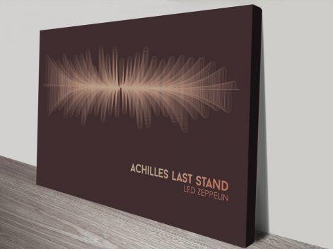 Buy Led Zeppelin Soundwave Art Online