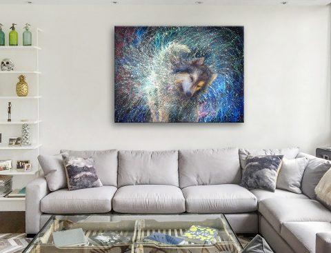 Buy Luna the Sidereal Cheap Iris Scott Wall Art