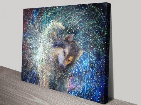 Buy Luna the Sidereal an Iris Scott Painting Print