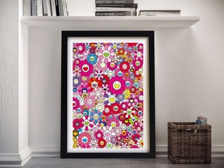 Buy An Homage to Monopink Canvas Artwork