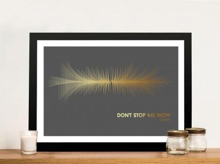 Buy Queen's Don't Stop Me Now Soundwave Art
