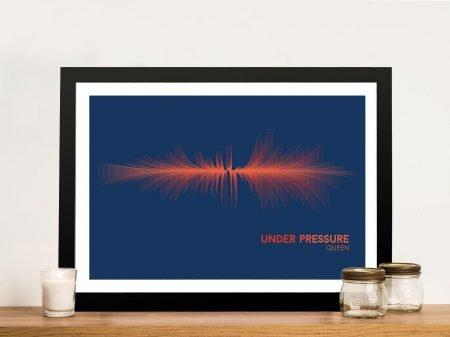 Buy a Soundwave Print of Under Pressure