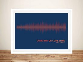 Buy Come Rain or Come Shine Soundwave Art