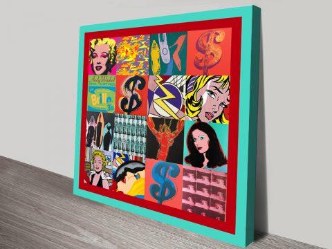 Buy Framed Retro Pop Art Prints Gift Ideas AU