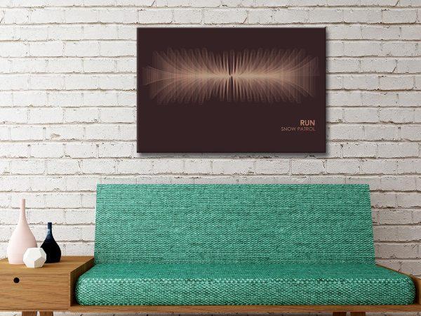 Buy Snow Patrol Soundwave Art Gifts Online