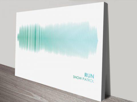 Buy Cheap Snow Patrol Soundwave Art Online