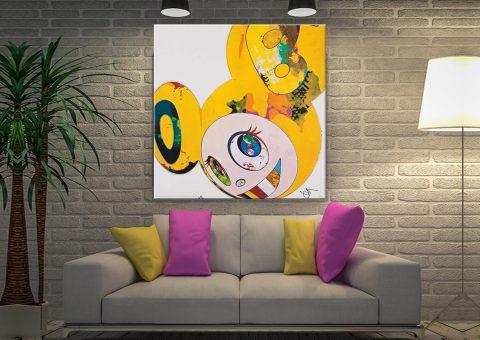 Takashi Murakami Artwork Melbourne