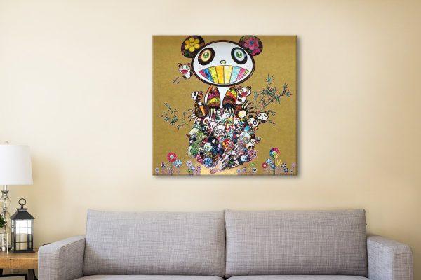 Buy Panda Family Affordable Canvas Prints AU