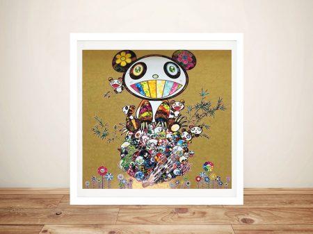 Buy Panda Family Takashi Murakami Wall Art