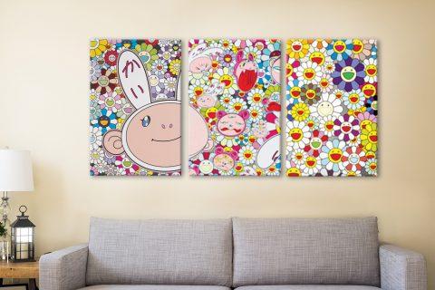 Buy Colourful Cartoon Flowers Art Gift Ideas AU