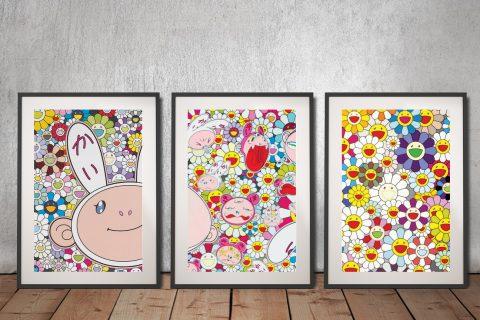 Buy Colourful Cartoon 3-Piece Wall Art