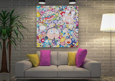 Takashi Murakami The Creative Mind Canvas Print