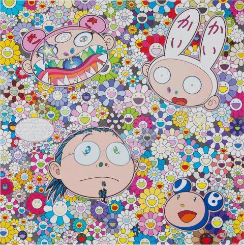 Takashi Murakami The Creative Mind Print