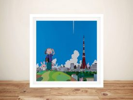 Buy Tokyo Tower Contemporary Wall Art