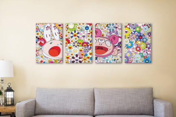Buy a Takashi Murakami Set of Four Prints