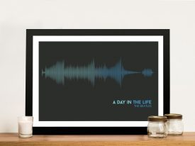 Buy The Beatles Soundwave Wall Art