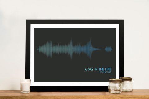 Buy The Beatles Soundwave Wall Art
