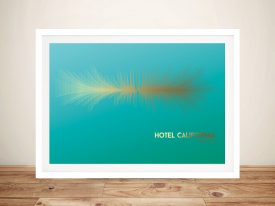 Buy The Eagles Hotel California Soundwave Art