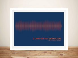 Buy Rolling Stones Soundwave Art Prints AU