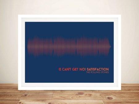 Buy Rolling Stones Soundwave Art Prints AU