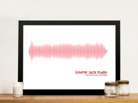 Buy a Jumpin' Jack Flash Soundwave Print