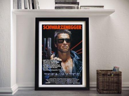 The Terminator Frame Wall Art