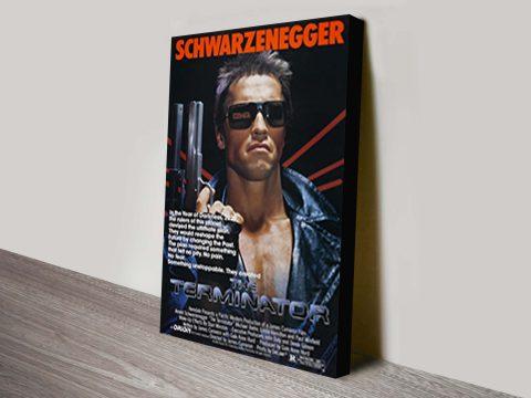 The Terminator canvas print