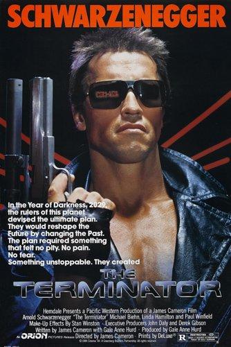 The Terminator Movie poster Print Australia