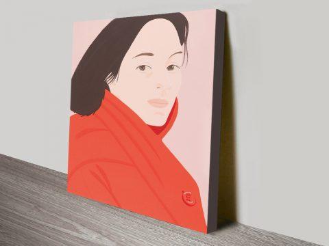 Alex Katz Brisk Day Canvas Print Sydney