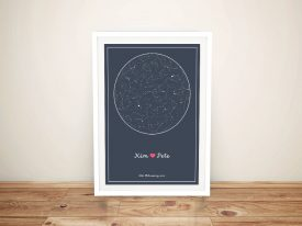 Custom Star Charts of the Night Sky