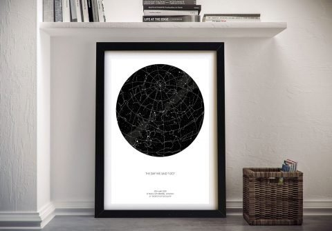 Design your Own Personalised Star Map
